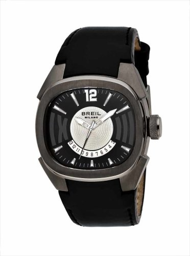 Breil - BW0312 - Gents Eros Black Strap Watch