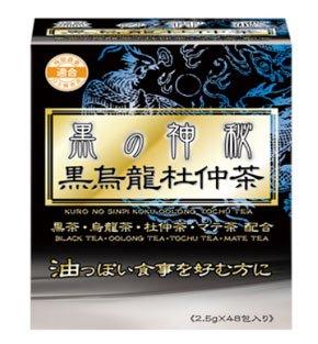 ユーワ 黒の神秘黒烏龍杜仲茶 2.5g×48包