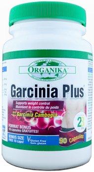 Organika Garcinia Plus, 300Mg, 90 Capsules