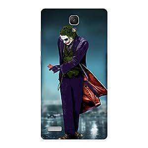 Gorgeous Premier Psyco Multicolor Back Case Cover for Redmi Note 4