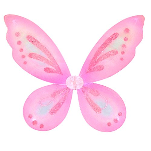 Pink Sparkling Fairy Butterfly Wings