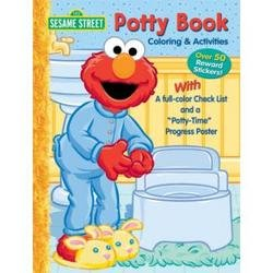 Bendon Sticker Activity & Poster Sesame Street Potty Book