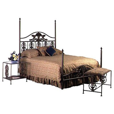 Twin Iron Bed Frame 7923 front