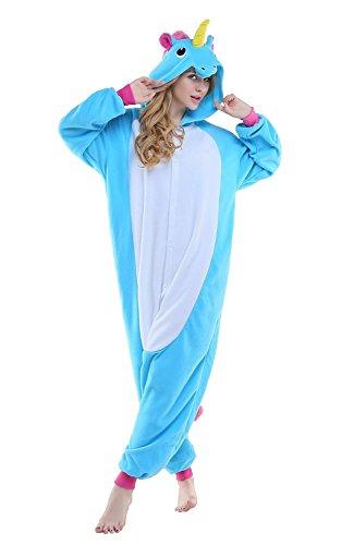 Pyjama-Licorne-Pyjama-Licorne-Adulte-Kigurumi-Combinaison-Animaux-Unicorn