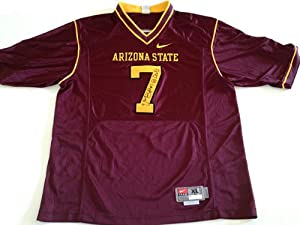 Vontaze Burfict Signed Arizona State Sundevils Jersey Maroon Nike by The+Sports+Mix