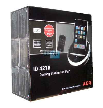 AEG Design-Dockingstation Docking-Station für iPod NEU