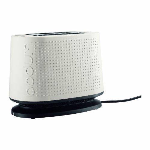 Bodum 10709-913US Bistro 2-Slice Toaster, White