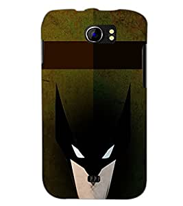 PrintDhaba Mask D-6075 Back Case Cover for MICROMAX A110 CANVAS 2 (Multi-Coloured)