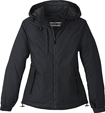 North End Ladies Hi-Loft Insulated Water Resistant Jacket Coat by Ash City