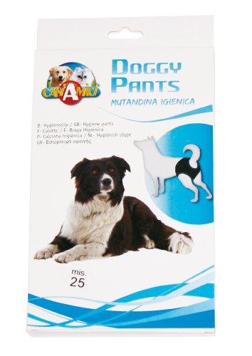CANiAMiCi ZC7IF2008 Monatshöschen für Hunde, Doggy Pants, Tailenumfang, 45 cm
