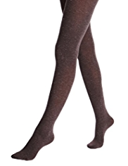 Heavyweight Sparkle Effect Opaque Tights