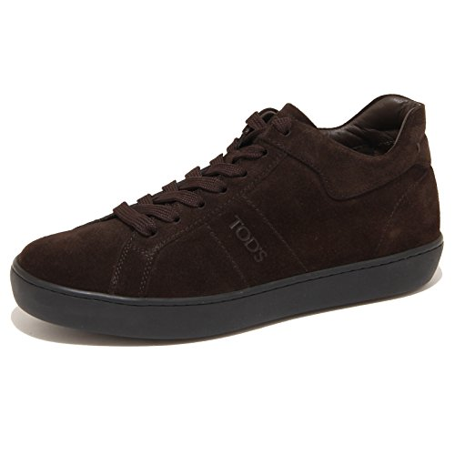 7839N sneaker TOD'S testa di moro scarpe uomo shoes men [5.5]
