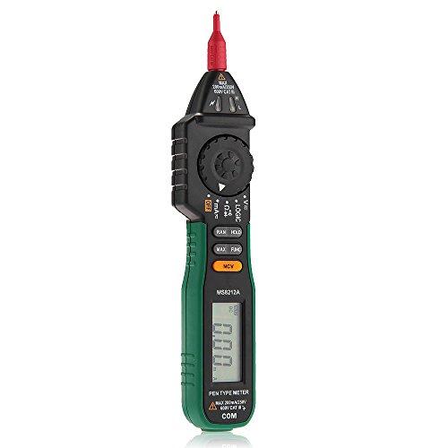 Lcd Digital Multimeter Test Ac Dc Volt Ohm Resistance Meter Voltmeter Pen Type