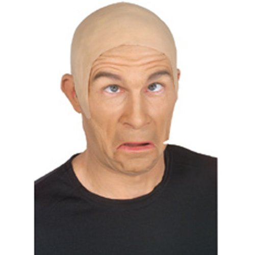 Rubies Skin Head Bald Cap Adult Flesh Color