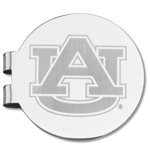 NCAA Auburn Tigers Laser Etched Silver Plated Money Clip at Amazon.com