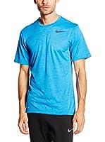 Nike Camiseta Manga Corta Dri-Fit Training (Azul)