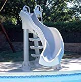 X-Streme Swimming swimming pool Slide peak Gray