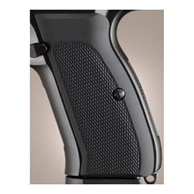 Hogue CZ-75/CZ-85 Grips Checkered Aluminum Matte Black