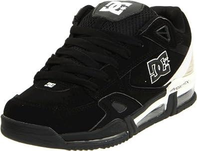DC Men's Versaflex Action Sports Shoe, Black/White, 7 M US