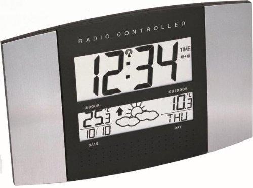Funk-Wanduhr-mit-Wetterstation-WS-8117