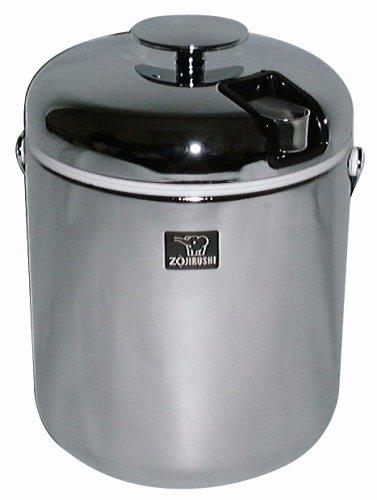 Zojirushi Deluxe Mini Ice Bucket, Chrome