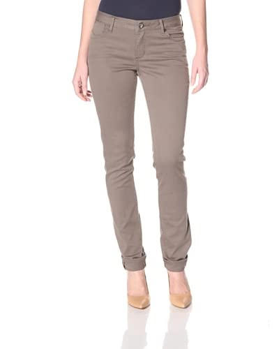 Christopher Blue Women's Silverton Cigarette Jean  - Crimini Mid Brown
