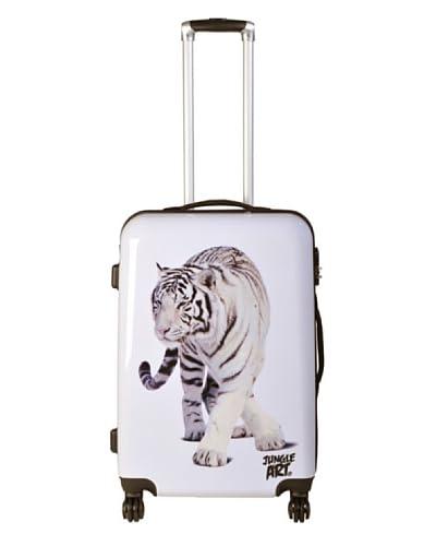 Jungle Art Trolley 4 Ruedas White Tiger/1A