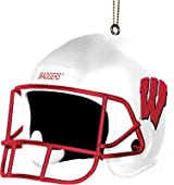3 Inch Helmet Ornament-Wisconsin