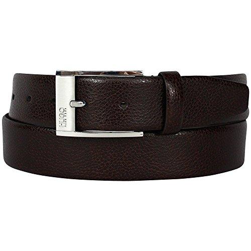 Hugo Boss Black Cintura in pelle di C-Ellot UK 34 Marrone Scuro