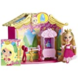 Barbie Peekaboo Petites Storytime 12 Dancing Princesses Room Doll