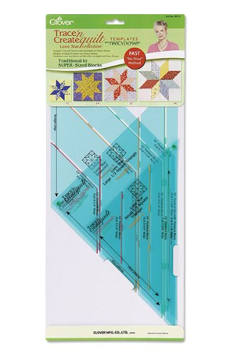 Clover Trace 'n Create Quilt Templates With Nancy