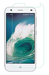 Reliance Jio LYF 4G Water 2 Tempered Glass, 9H Hardness Ultra Clear, Anti-Scratch, Bubble Free, Anti-Fingerprints & Oil Stains Coating (Note: Covers only the front display and not the curved sides)