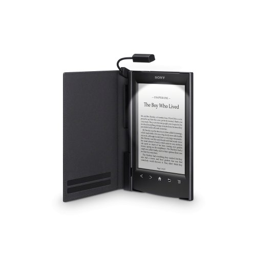 Sony Cover with Light for eReader PRS-T2 - Black (Sony Reader Cover With Light compare prices)