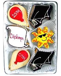 Beautiful Sweets Sunny Graduate Organic Cookies, 4 Cookies