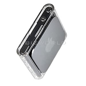 NEW CLEAR HARD CRYSTAL CASE FOR APPLE IPOD NANO 6, 6TH GEN 6G - COVER/SHELL/SKIN