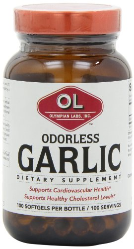 Olympian Labs Odorless Garlic Supplement, .4 Pound