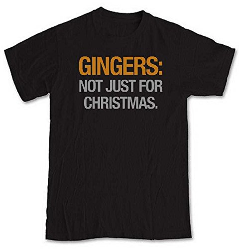 gingers-not-just-for-christmas-black-short-sleeve-t-shirt-from-our-unique-t-shirt-range-an-original-