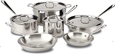 All-Clad 401488R Stainless Steel Tri-Ply