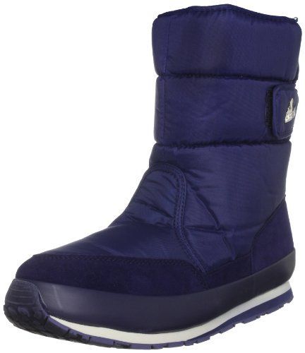 Rubber Duck Women's Classic Nylon/Suede Med Blue Snow Boot Sno200535357 6 Uk