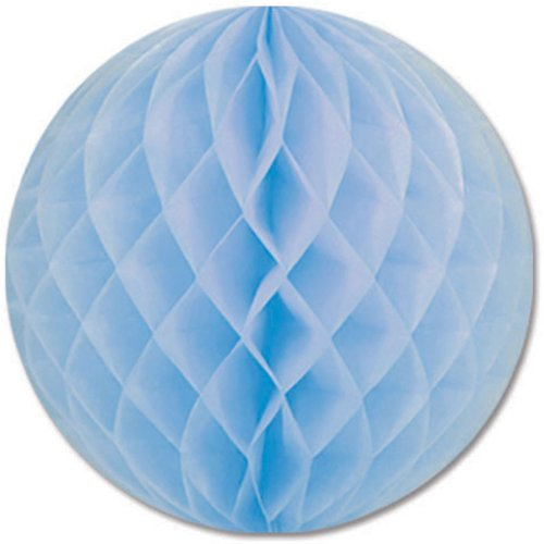 Pkgd Tissue Ball (lt blue) Party Accessory  (1 count) (1/Pkg)