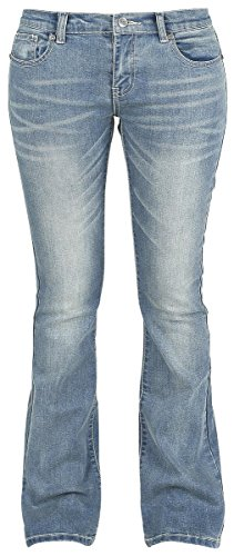 R.E.D. by EMP Grace (Boot-Cut) Jeans donna blu W27L32