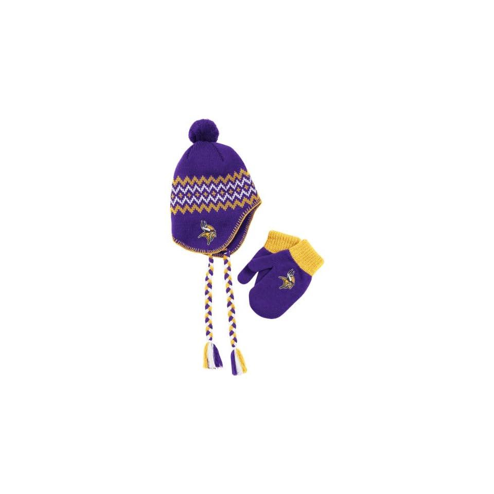 Reebok Minnesota Vikings Toddler Knit Hat And Glove Set Toddler on ... 80825cf83