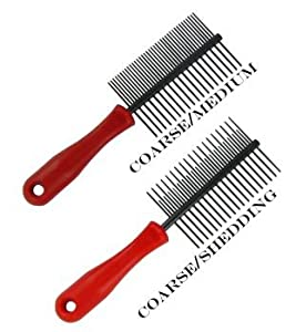 Two-Sided Anti Static Dog Comb Coarse