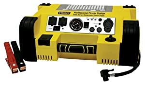 Stanley PPRH5 500-Amp Professional Power Station with Built-In Air Compressor