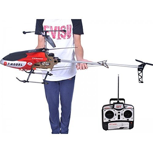 53 Inch Extra Large GT QS8006 2 Speed 3.5 Ch RC Helicopter Builtin