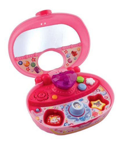 Vtech Fun Shapes Jewelry Box - Pink front-884966