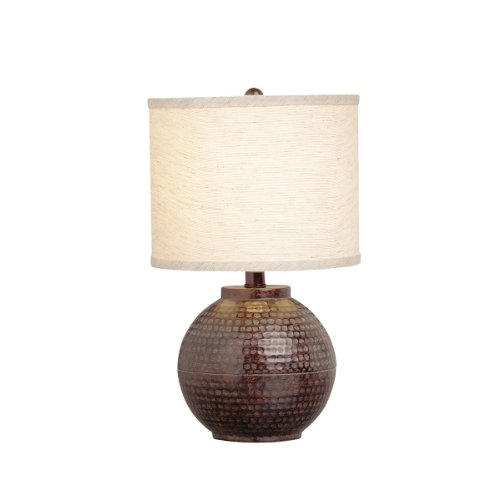 Kichler Lighting 70332 Missoula 16.5-Inch Portable Accent Lamp, Linen Hard Back Shade