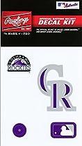 Rawlings Sporting Goods MLBDC Decal Kit, Colorado Rockies