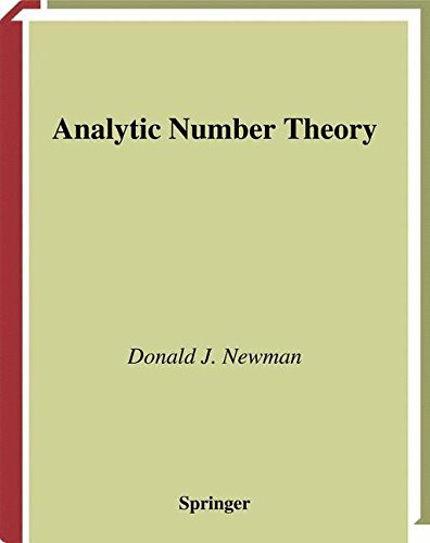 Analytic Number Theory (Graduate Texts in Mathematics)