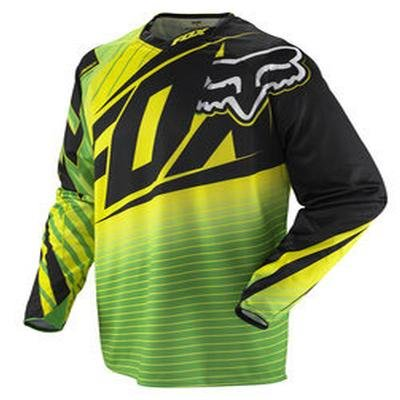 Image of Fox 2012 Men's 360 Enterprize Long Sleeve Bike Jersey - 02360 (B005LW9H2E)